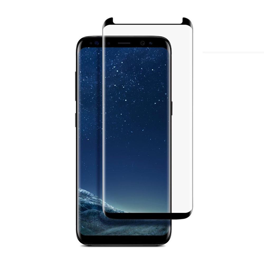 Защитное стекло Markclub@Hoco Стекло Самсунг S8, Glass S8 Black, прозрачный