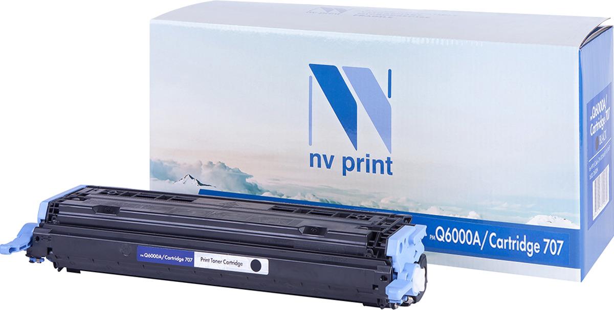 Тонер-картридж NV Print Q6000A/707PR, черный, для лазерного принтера, совместимый