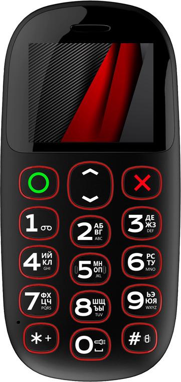 Мобильный телефон Vertex C322 Black
