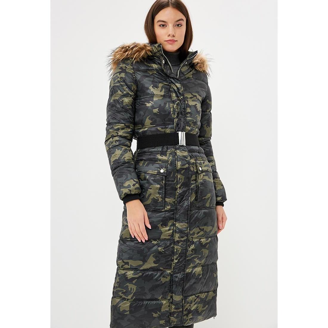 Пальто Modis M182W00683O254F03 Хаки, 42 размерM182W00683O254F03Состав: 100% Полиэстер