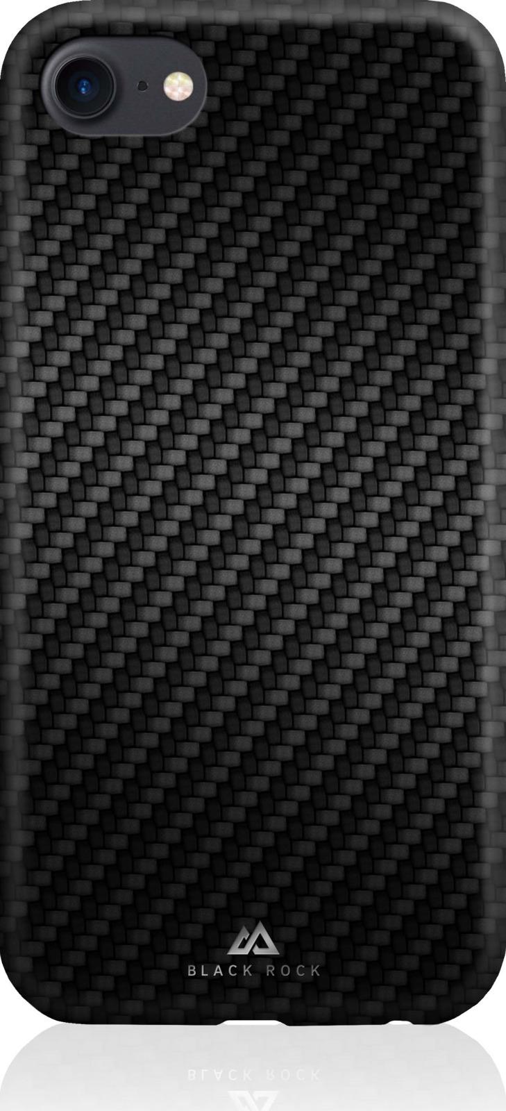 Накладка для сотового телефона Black Rock Flex Carbon Case для Apple iPhone 8 / 7 / 6/6S, цвет: черный шторка для веб камеры black rock цвет черный