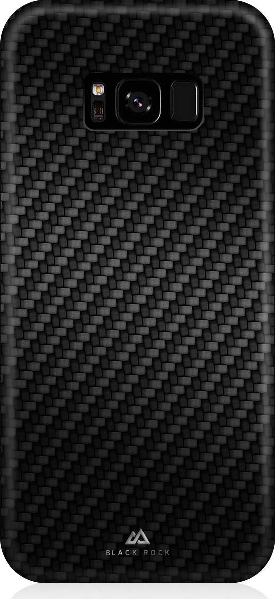 Чехол Black Rock Flex Carbon Case для Samsung Galaxy S8, цвет: черный
