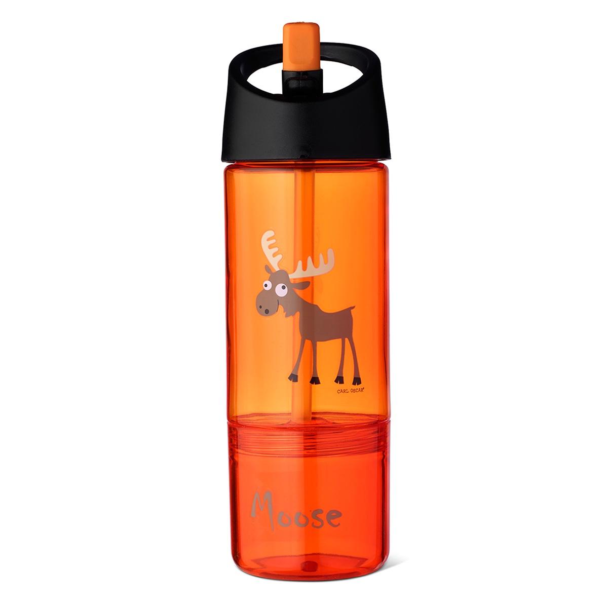 Бутылка Carl Oscar Детская 2в1, оранжевый бутылка для воды aquapad™ 0 4л белая carl oscar aquapad™