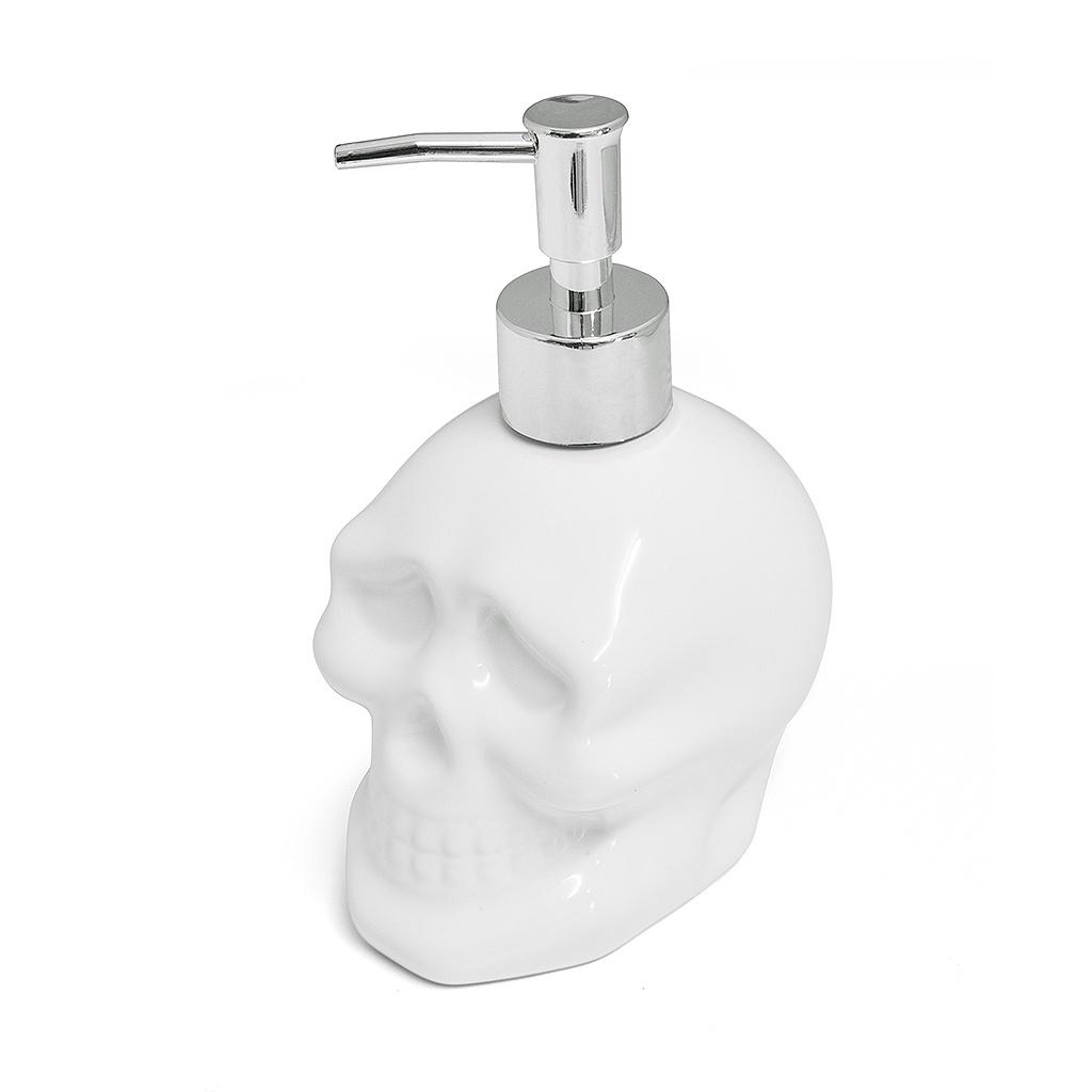 Диспенсер для мыла Balvi Дозатор Skully, 26751, белый недорго, оригинальная цена