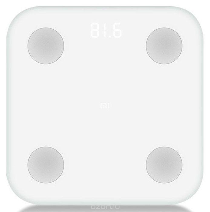 Напольные весы Xiaomi Mi Body Composition Scale, белый