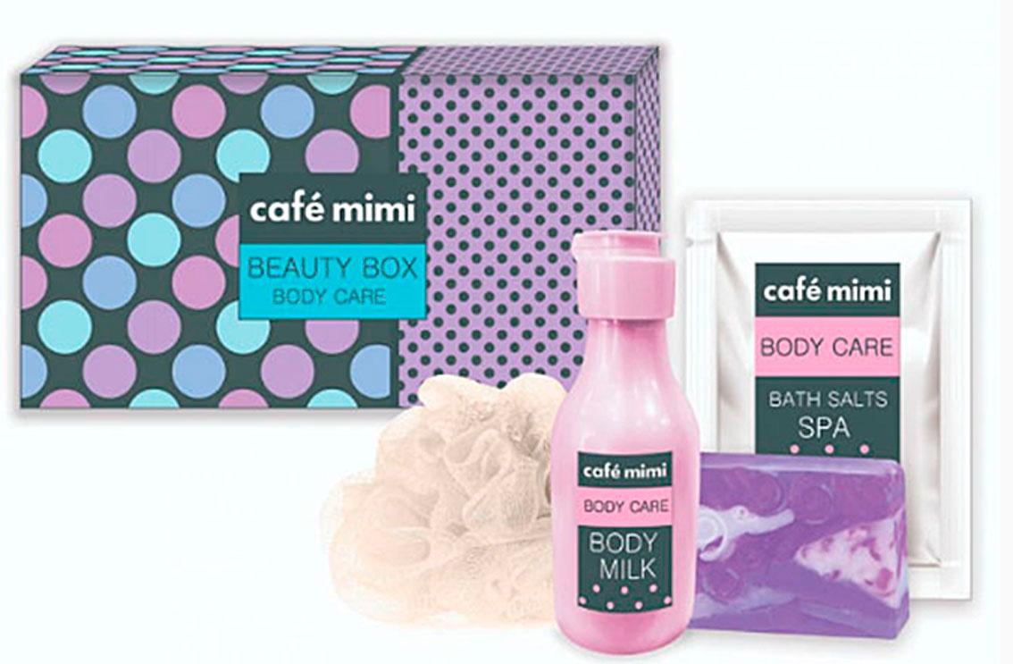 Набор косметики для ухода за кожей Cafemimi Beauty Box sana beauty cafe