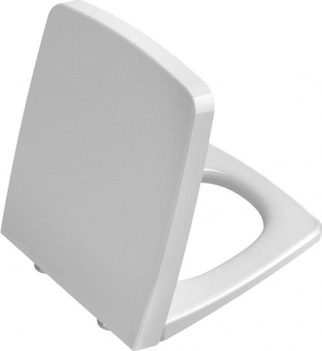 Сиденье дюрапласт Vitra Metropole, с микролифтом, 90-003-009, белый vitra quarzite золотой 45x45