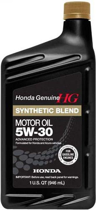 Моторное масло Honda Synthetic Blend, 5W-30 SN, 08798-9034, 946 мл
