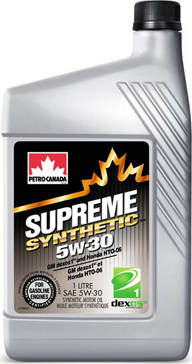 Моторное масло Petro-Canada Supreme Synthetic 5W-30, MOSYN53C12, 1 л