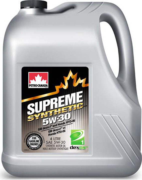 Моторное масло Petro-Canada Supreme Synthetic 5W-30, MOSYN53C16, 4 л