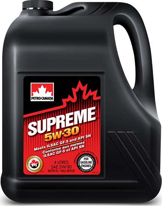 Моторное масло Petro-Canada Supreme 5W-30, MOSP53C16, 4 л