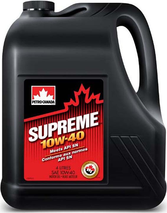 Моторное масло Petro-Canada Supreme 10W-40, MOSP14C16, 4 л