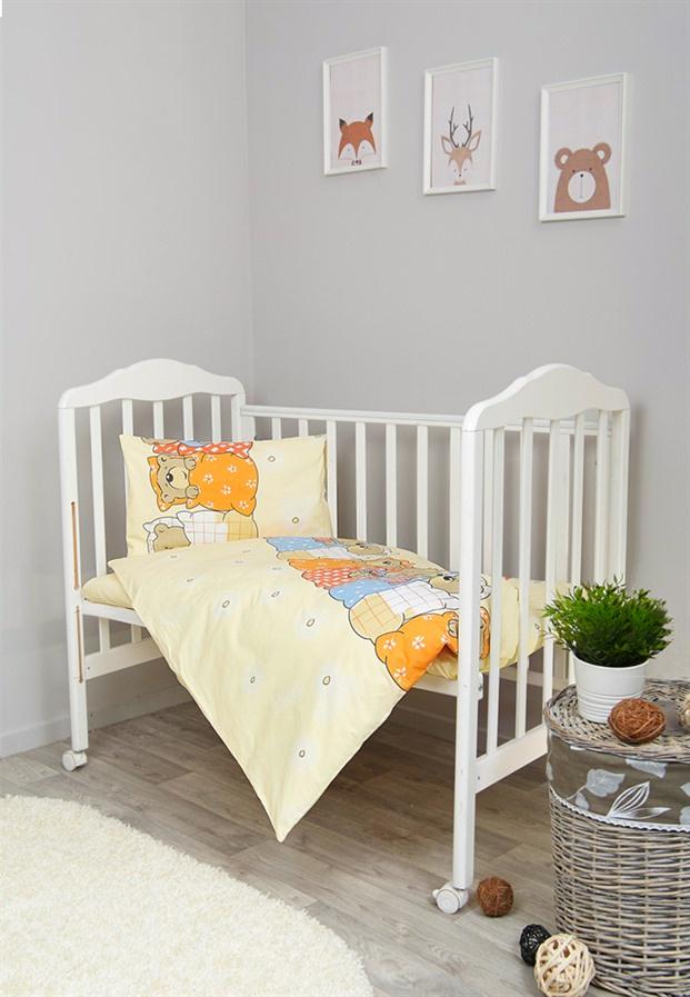 Фото - Комплект белья для новорожденных Сонный гномик Лежебоки, бежевый комплект белья для новорожденных сонный гномик жирафик бежевый белый