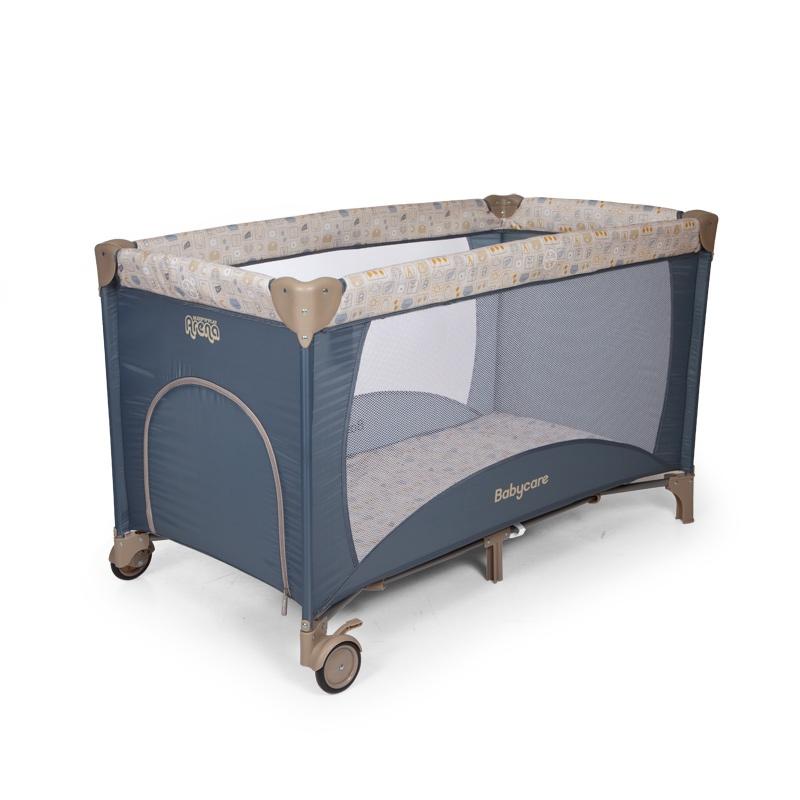 Манеж-кроватка BABY CARE Arena манеж baby care arena коричневый