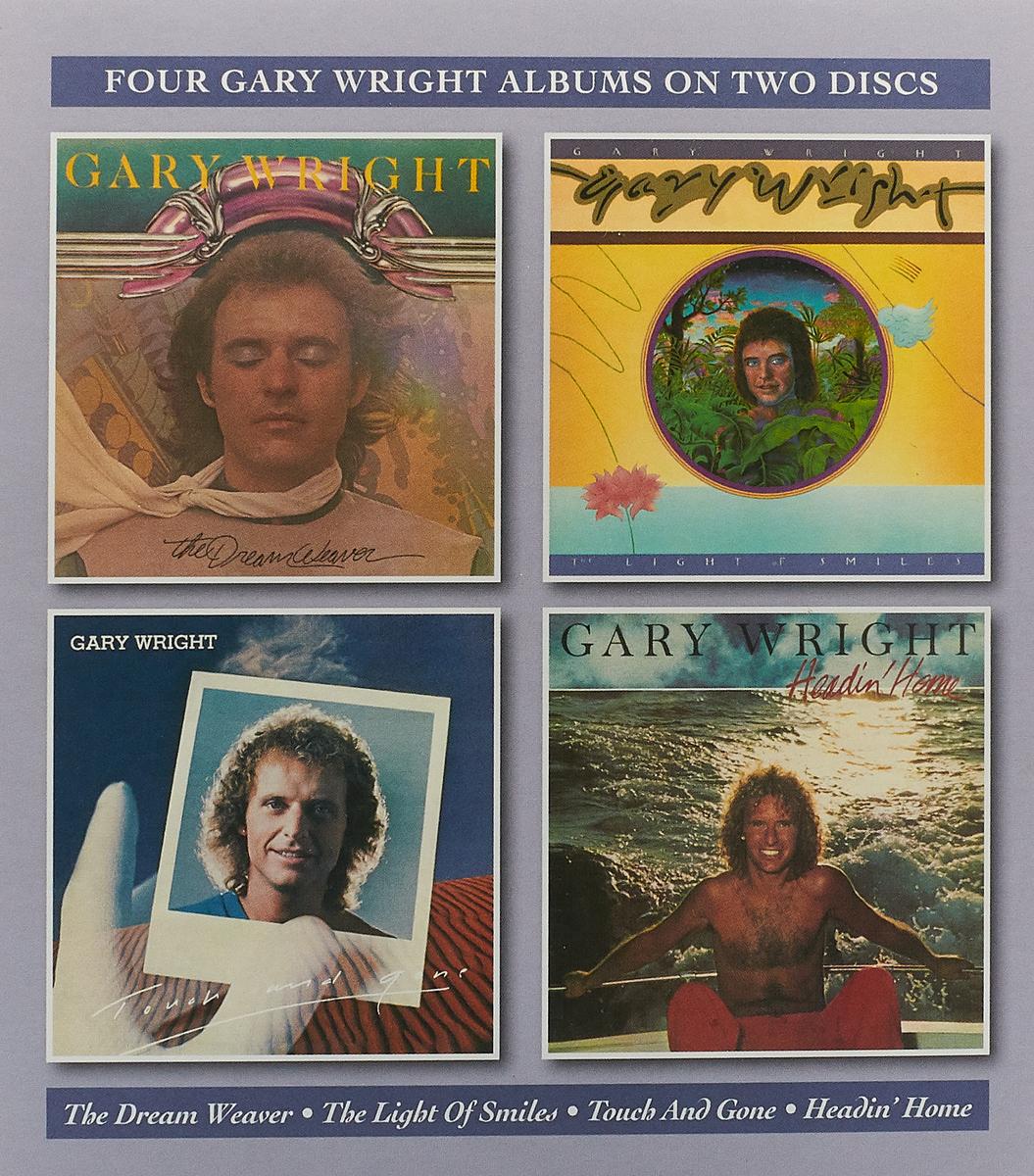 Гари Вриг Gary Wright. The Dream Weaver / The Light Of Smiles / Touch And Gone / Headin' Home (2 CD) недорго, оригинальная цена