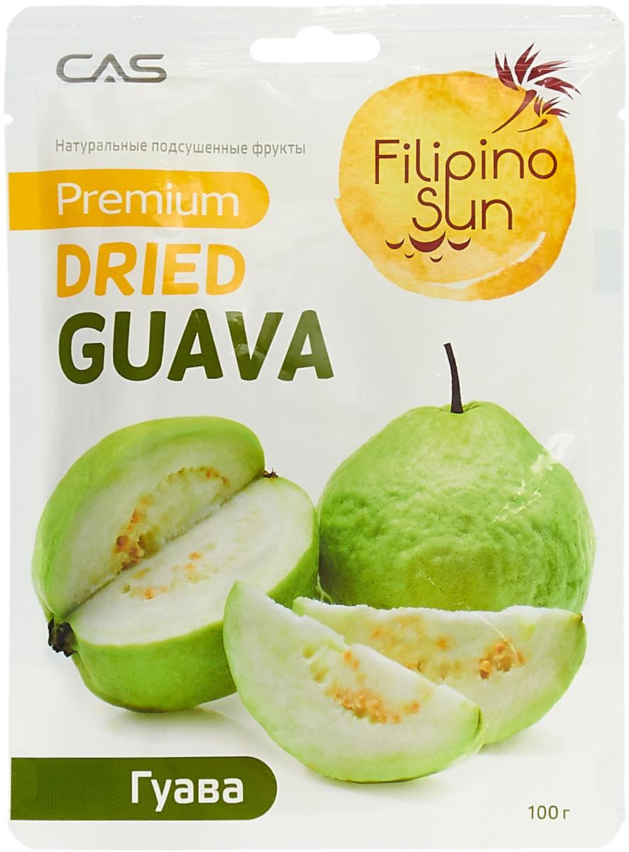 Сухофрукты Filipino Sun Плоды гуавы сушеные, 100 г