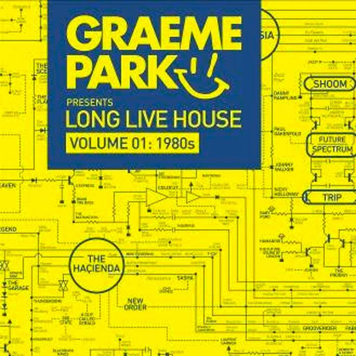 Graeme Park Graeme Park. Long Live House Volume 1. 1980s (2 LP) who who live at hyde park 3 lp