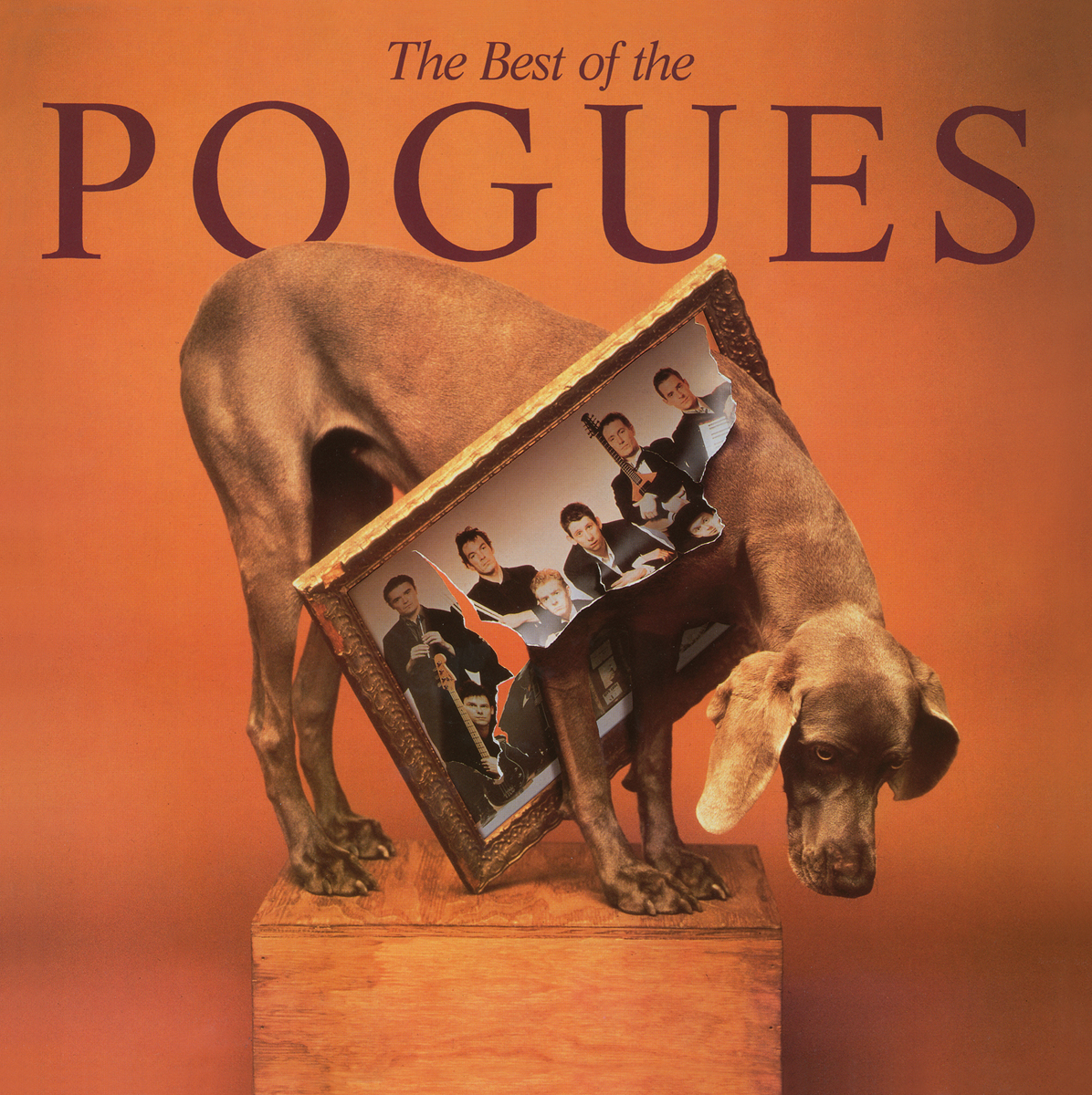 The Pogues The Pogues. The Best Of The Pogues (LP) the pogues peace and love lp