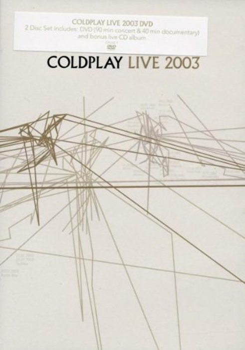 Coldplay Coldplay. Live 2003 (CD + DVD) майка классическая printio coldplay