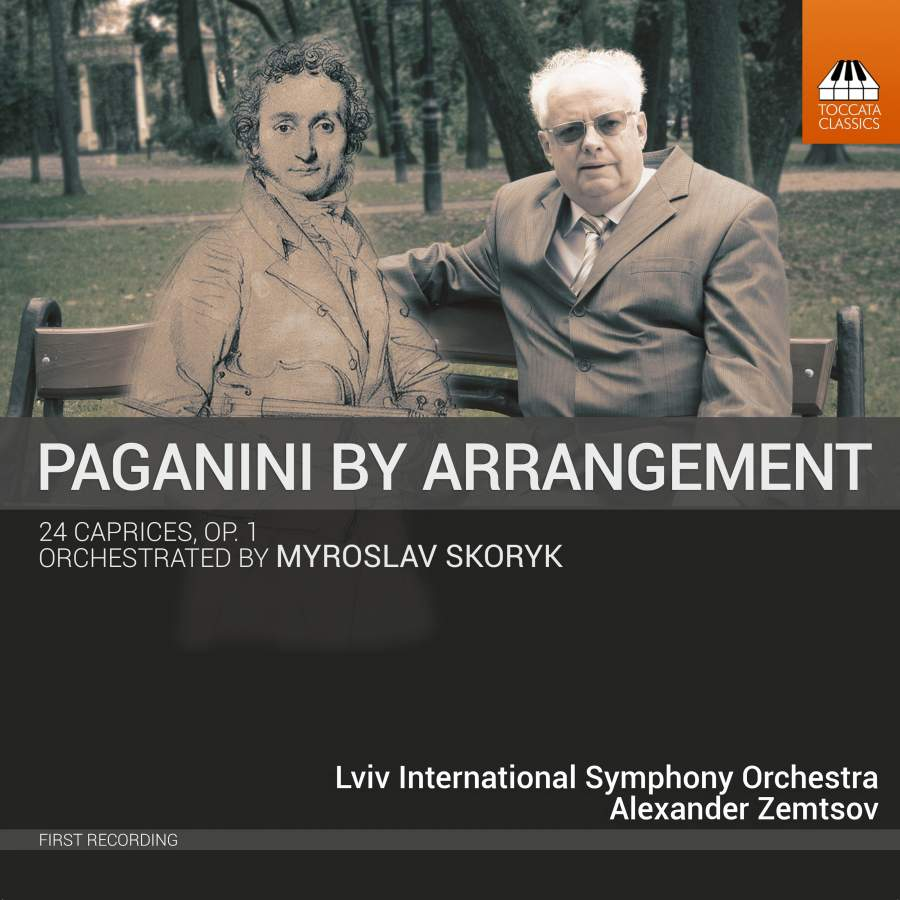 Никколо Паганини Nicolo Paganini. Paganini By Arrangement 24 Caprices, Op. 1, Orchestrated By Myro н паганини вариации на тему дж вейгля variations on a theme of g weigl by paganini niccolo