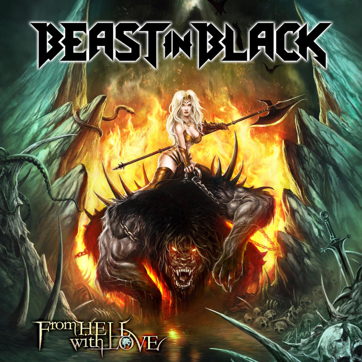 Beast In Black Beast in Black. From Hell with Love battle beast fin