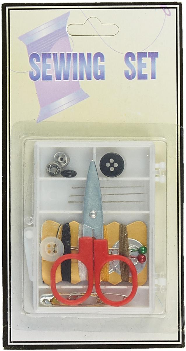Швейный набор 0340-6004 дорожный, 611103 набор шкатулок для рукоделия bestex 3 шт zw001250