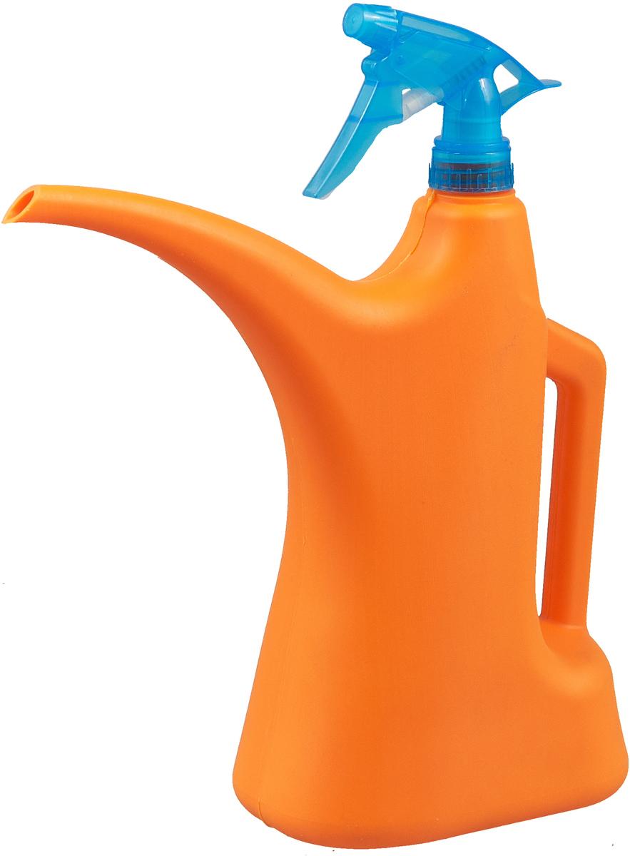 купить Лейка-распылитель Альтернатива, М282, оранжевый, 1.5 л по цене 140 рублей