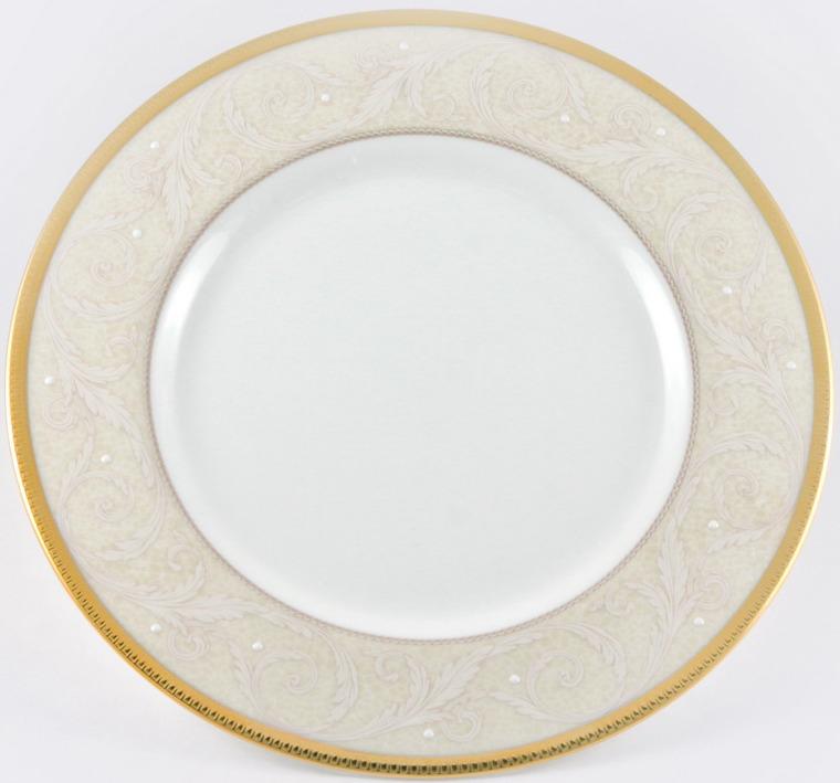 Блюдо Narumi Ноктюрн золотой круглое, 51035-1670
