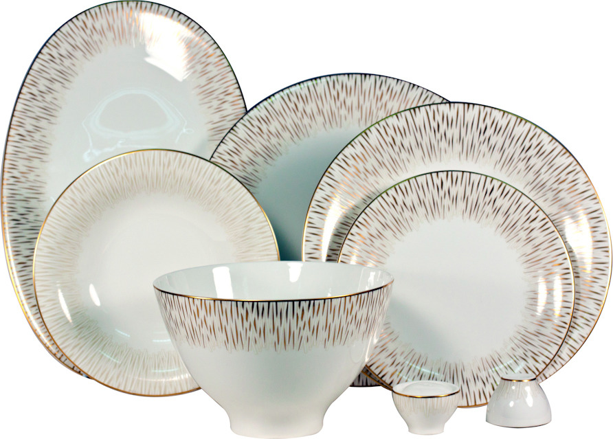 Сервиз обеденный Royal Porcelain Голден Глоу, 9019/23128, 23 предмета