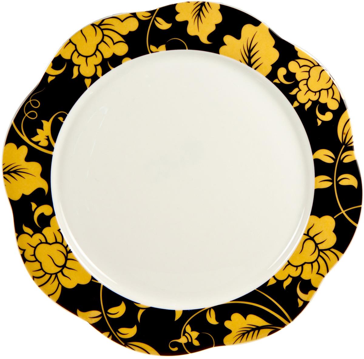 Тарелка мелкая Royal Porcelain Моно гарден, 8906/6111, 6 шт