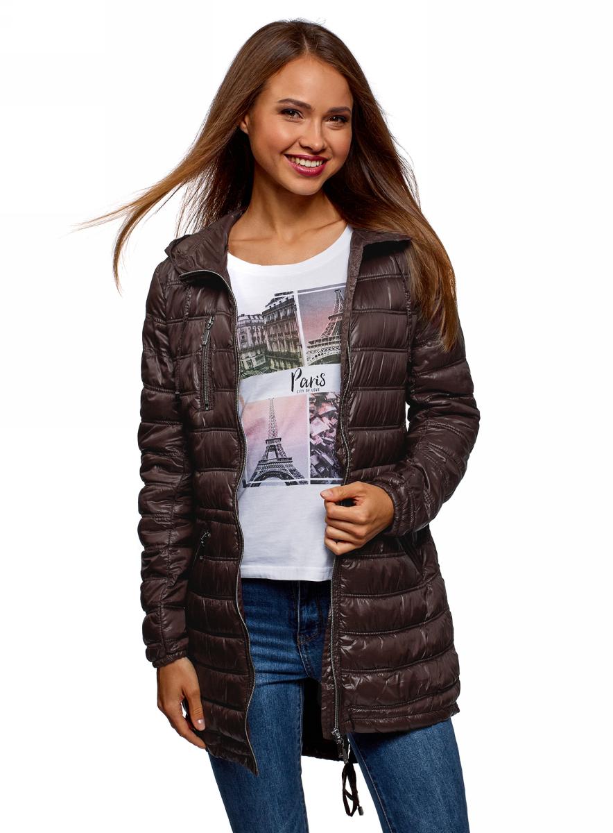 Куртка oodji Ultra майка женская oodji ultra цвет ментоловый 14305023 3b 46866 6500n размер m 46