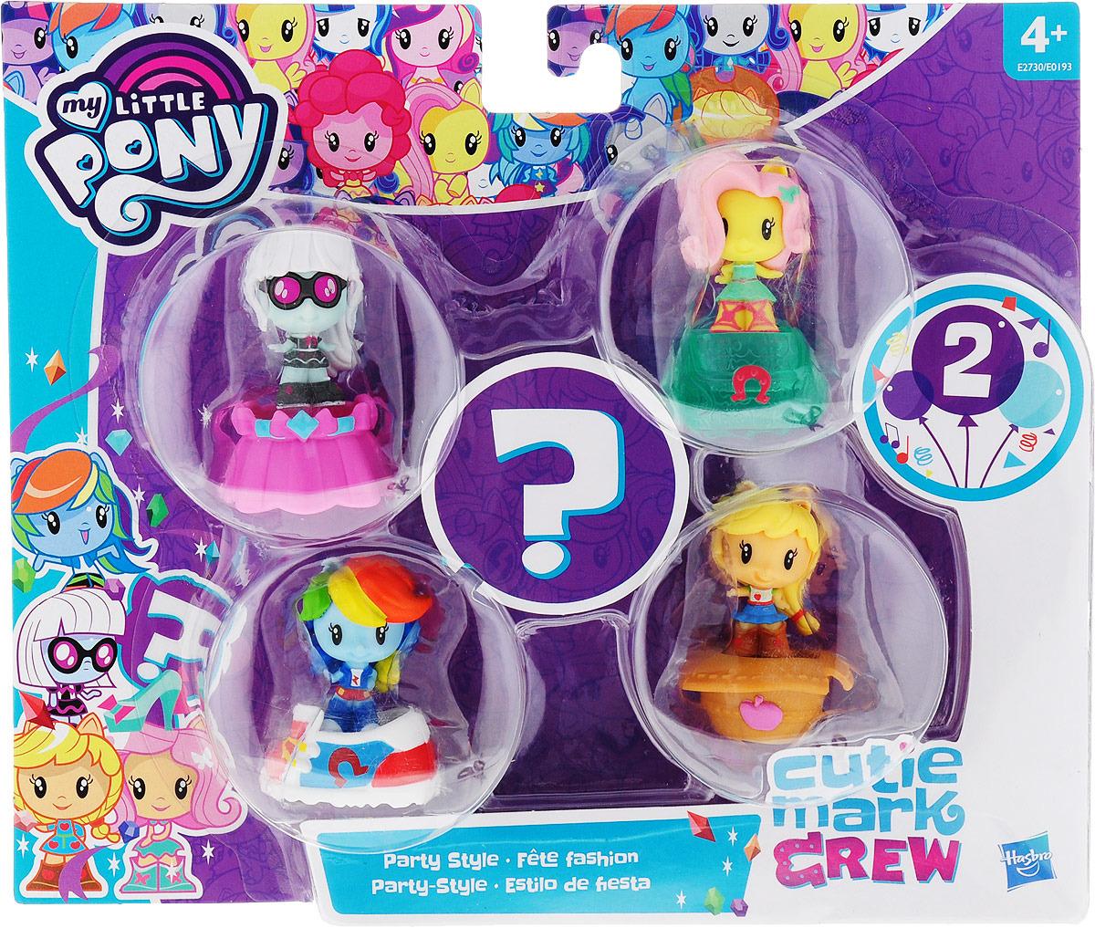 Игровой набор My Little Pony Пони Милашки, E0193_E2730 my little monster 5