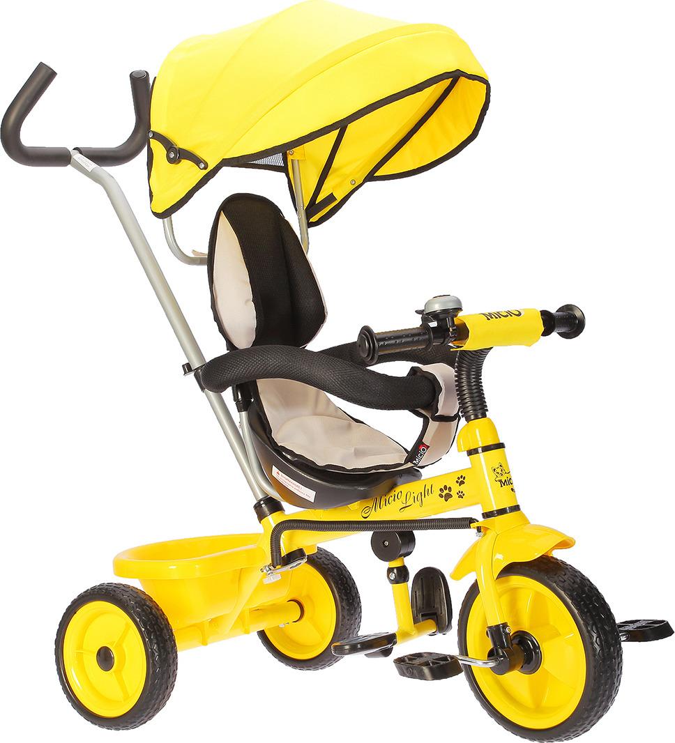 Велосипед детский Micio Light 2018, 2803229, желтый