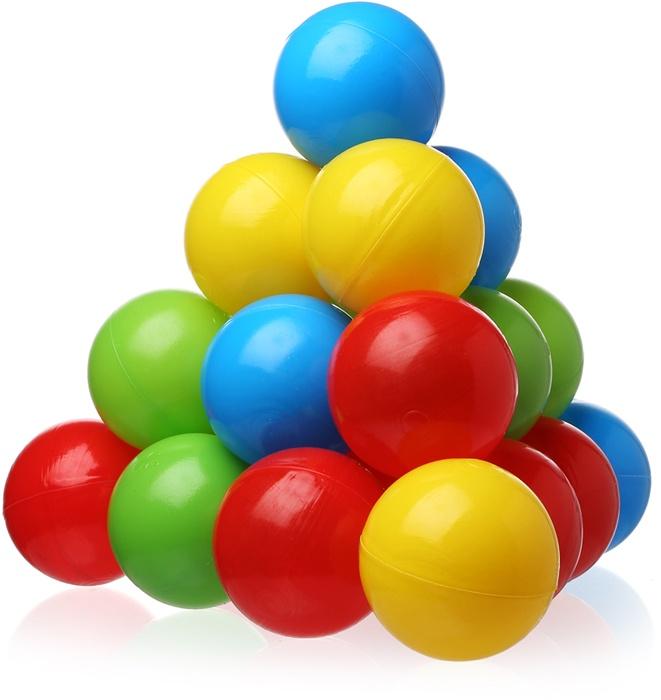 Шарики для бассейна LASOMI 50 шт, 50 игрушки для детского бассейна lt112 3 7