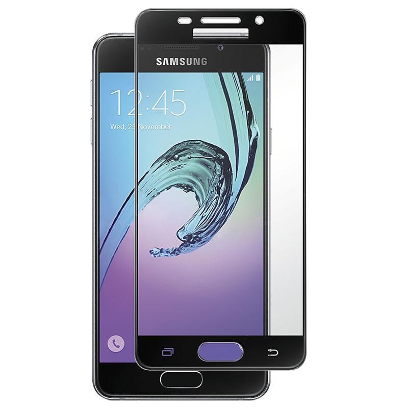 Защитное стекло 5D Glass Shield Samsung Galaxy A5, samA520bl, черный