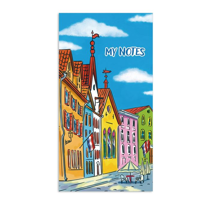 Блокнот для заметок, списка дел и покупок Феникс+ «Мои записи», 48984, 64 листа, разноцветный