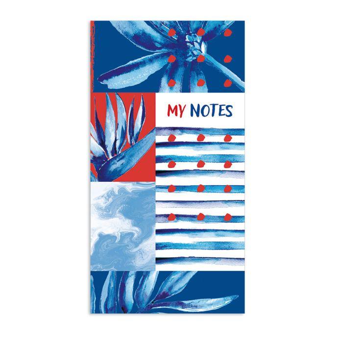 цена на Блокнот для заметок, списка дел и покупок Феникс+ «Мои записи», 48983, 64 листа, синий