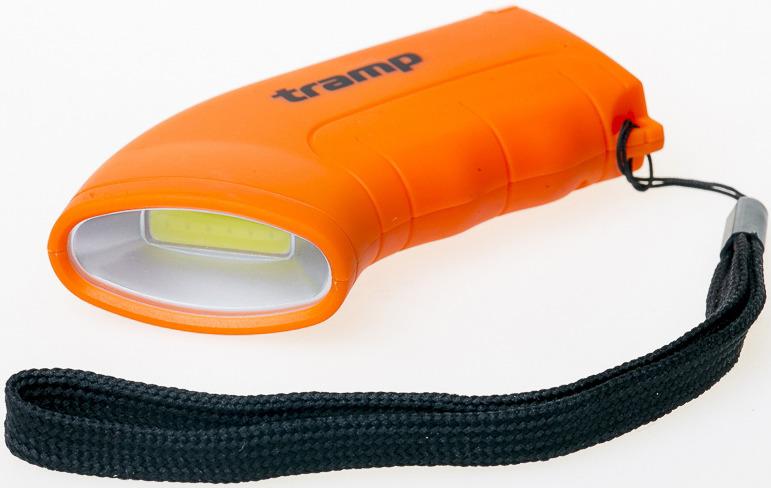 Фонарь-брелок Tramp, карманный, TRA-187, оранжевый