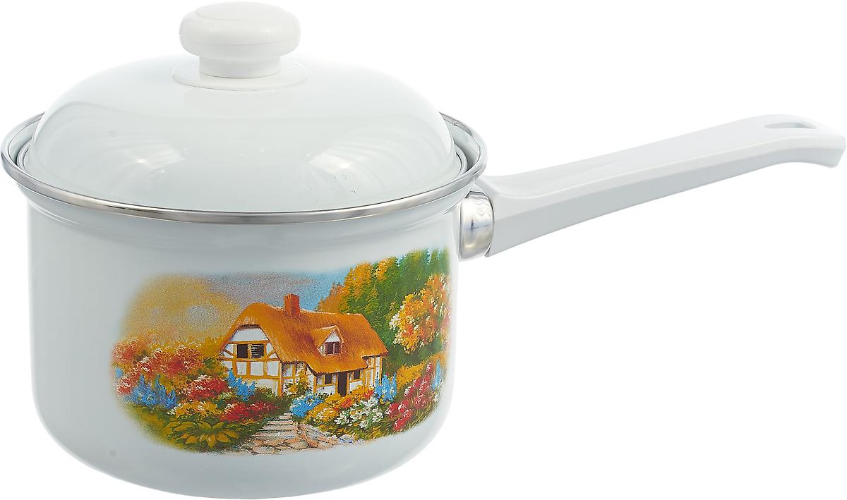 Ковш Лысьвенские эмали, С-1607АП/7, 1 л, цвет в ассортименте цена