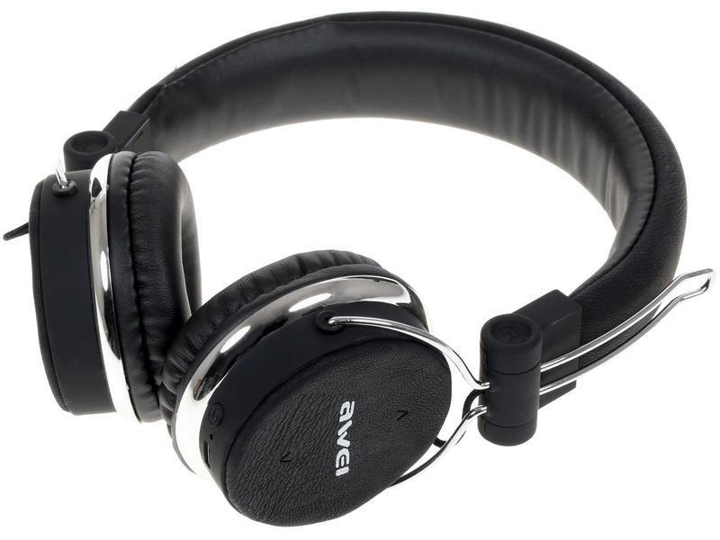 Беспроводные наушники Awei-700BL, черный все цены
