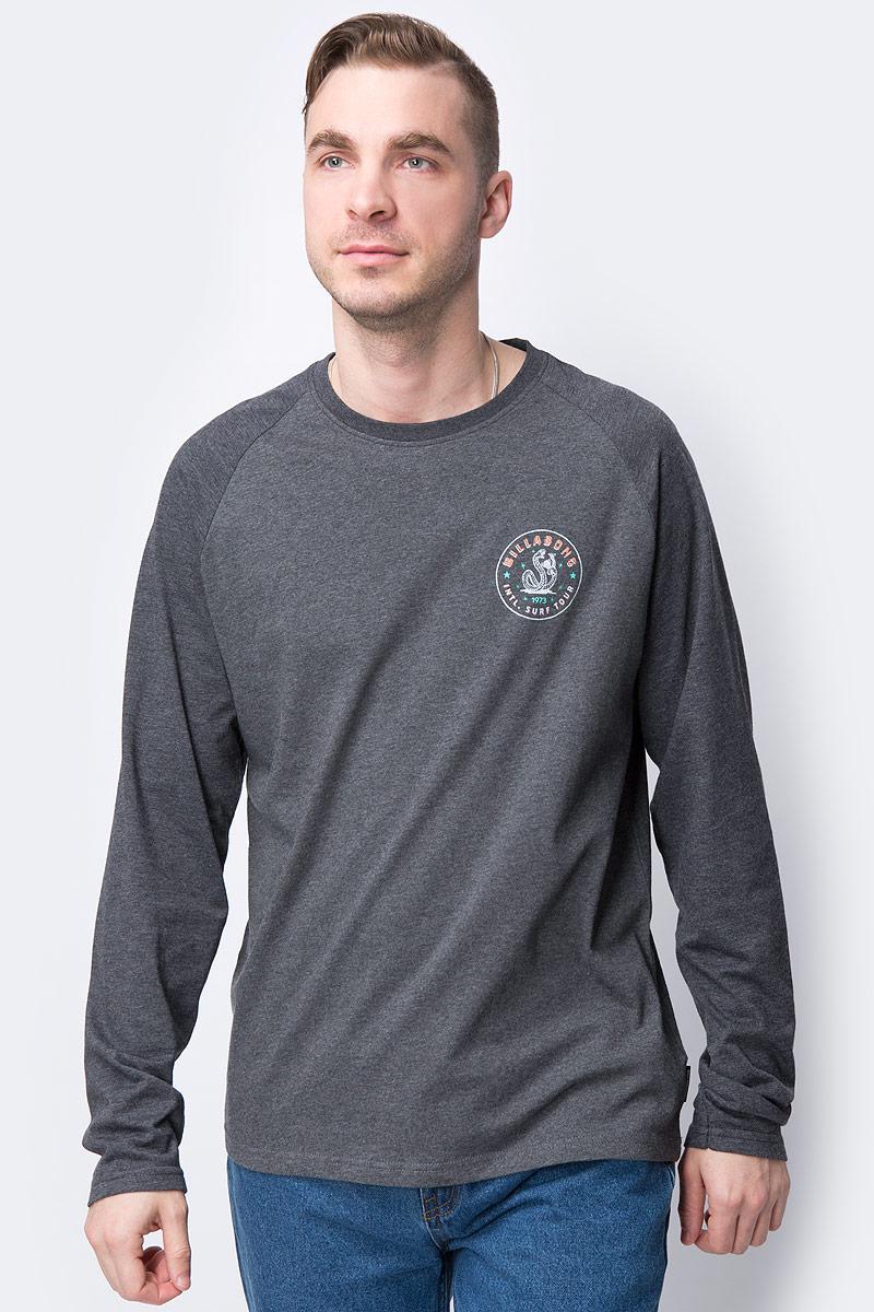 Свитшот мужской Billabong, цвет: серый. L1LS05-BIF8-3583. Размер L (50)L1LS05-BIF8-3583