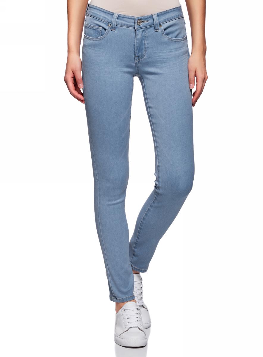 Джинсы oodji джинсы скинни облегающие для девочек 3 12 лет