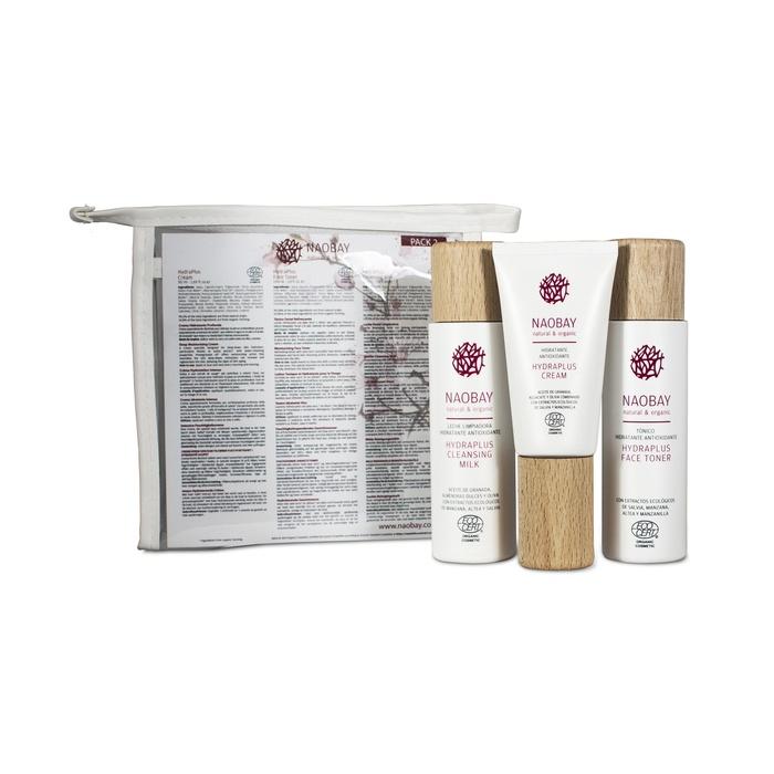 Набор косметики для ухода за кожей NAOBAY Дорожный набор Hydraplus Pack Ecocert equilibria cream крем для лица баланс 50 мл naobay naobay face