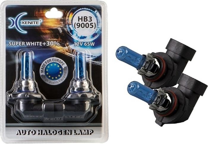 Автолампа Xenite HB3 Super White P20d, 12V, 1007040, 2 шт автолампа xenite r2 75 70w p45t 12v 1007096