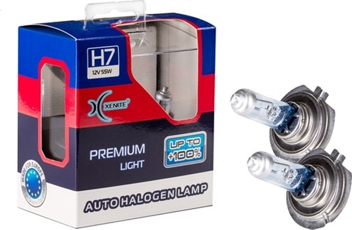 Автолампа Xenite H7 Premium PX26d, 12V, 1007120, 2 шт автолампа xenite r2 75 70w p45t 12v 1007096