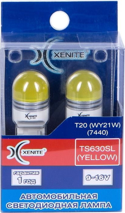 Фото - Автолампа Xenite TS630SL, светодиодная, 9-16V, T20, WY21W, 1009530, 2 шт автолампа xenite tp630sl red светодиодная 9 16v t20 wr21w 1009529 2 шт