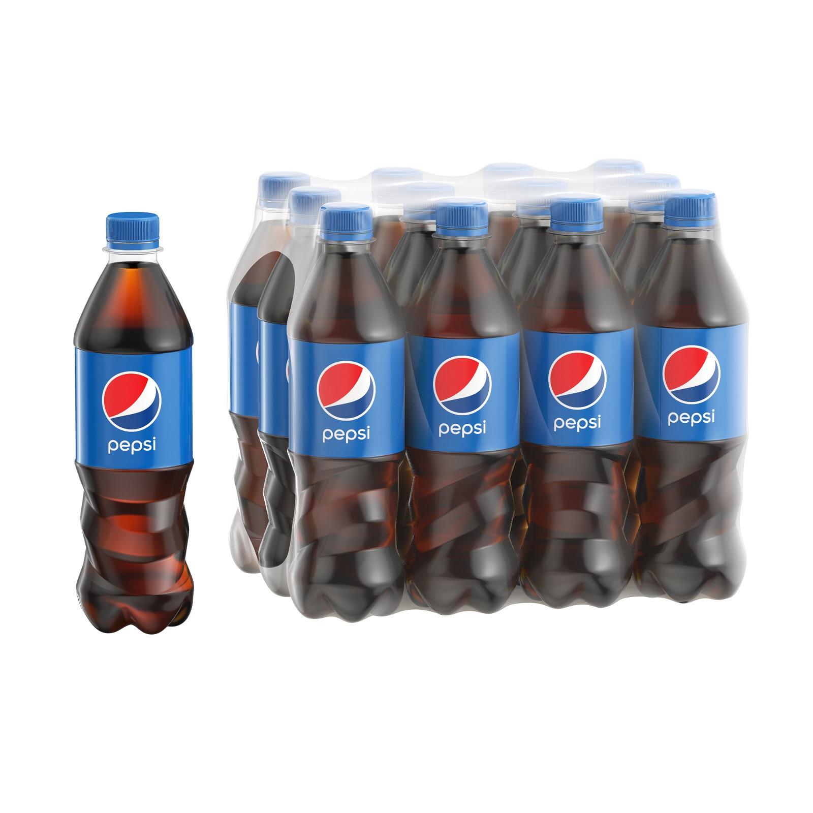 Газированный напиток Pepsi, 12 шт по 500 мл