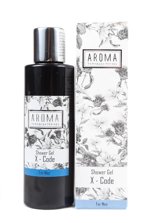 Гель для душа Aroma Home & Spa Therapy «X — Код» aroma x supplement