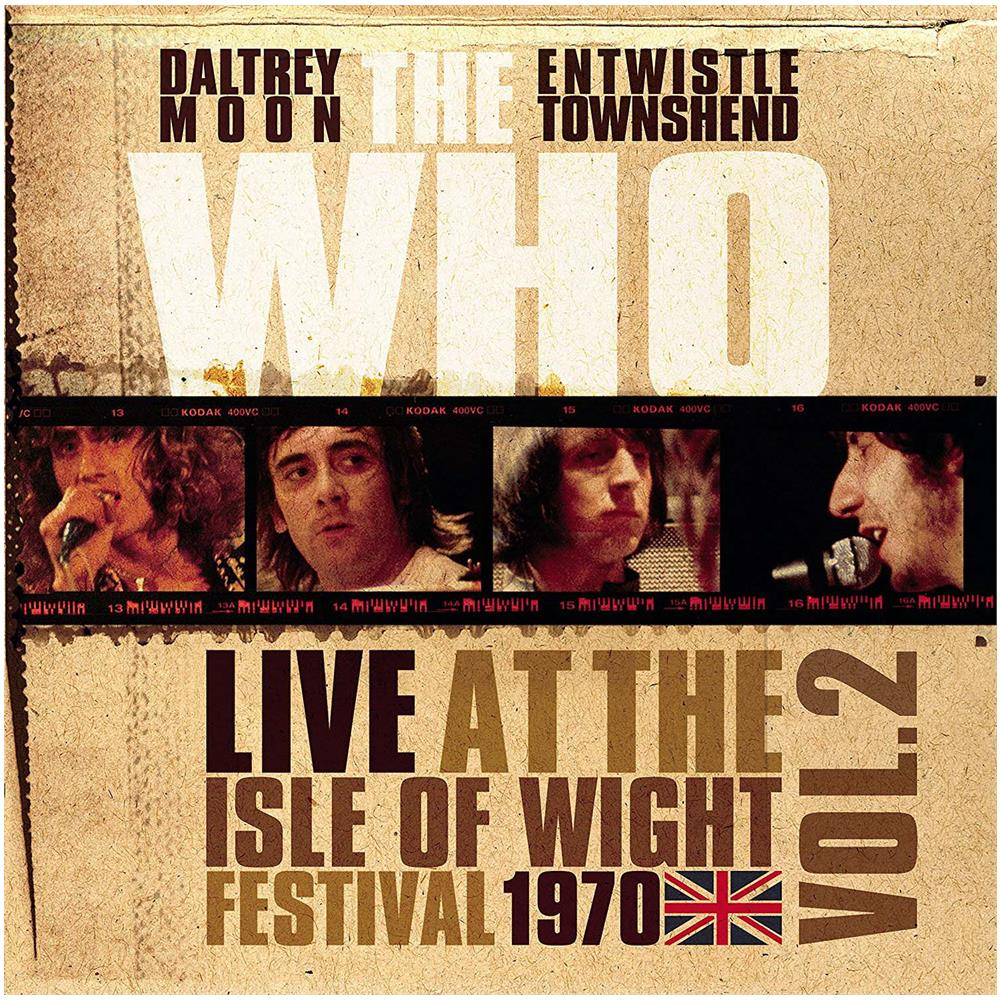 The Who The Who. Live At The Isle Of Wight Festival 1970 Volume 2 (LP) doctor who festival of death