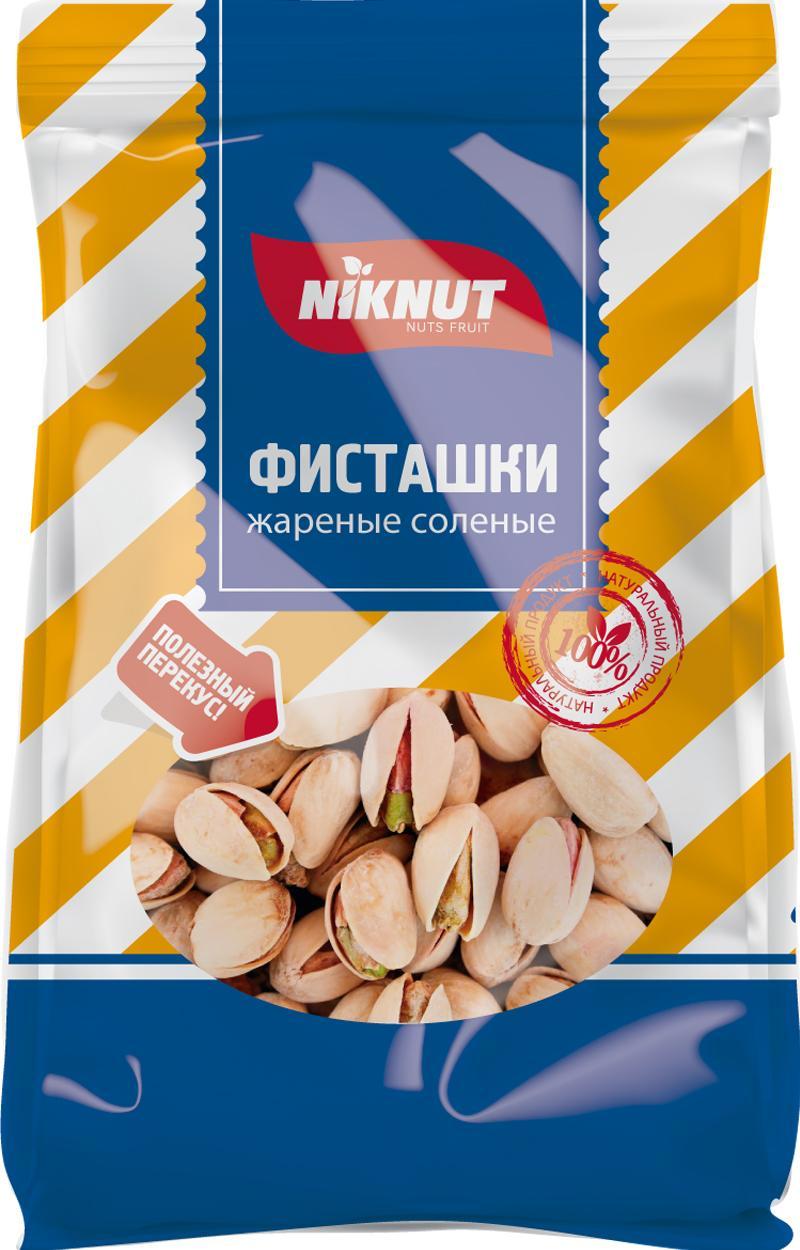 Орехи NIK NUT перекуси здОрово, Фисташки, 130